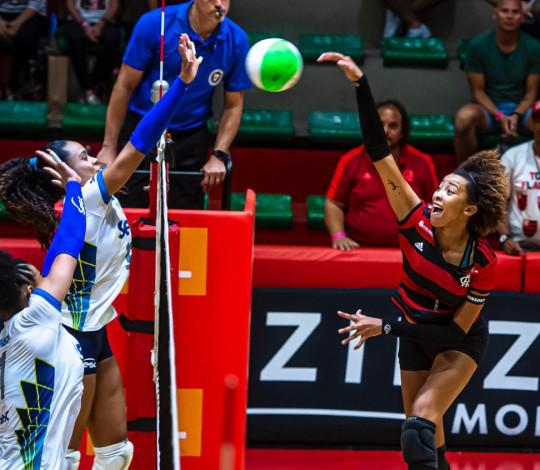 Flamengo é superado pelo Sesc-RJ no Campeonato Estadual de Vôlei