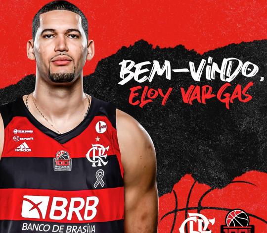 Eloy Vargas é o novo pivô do FlaBasquete para a temporada 2019/20