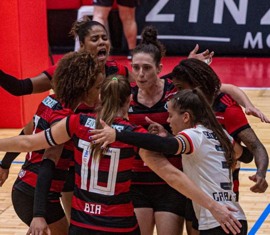 Flamengo se garante na final do Campeonato Estadual de Vôlei