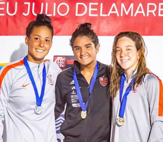 Maria Fernanda Costa conquista o ouro no Brasileiro Interclubes Júnior