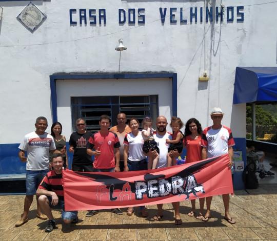 Consulado FLAPEDRA promove campanha em prol da Casa dos Velhinhos de Pedralva-MG