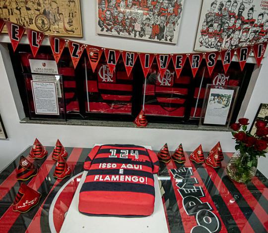 Flamengo completa 124 anos com celebrações na Gávea