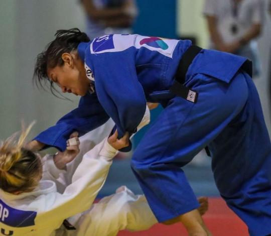 Sarah Menezes encerra participação no Grand Slam de Osaka, no Japão