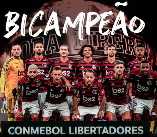 Virada espetacular! Mengão vence o River Plate por 2 a 1 e é bicampeão da Conmebol Libertadores