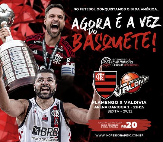 Garanta seus ingressos para assistir o Flamengo na Champions League