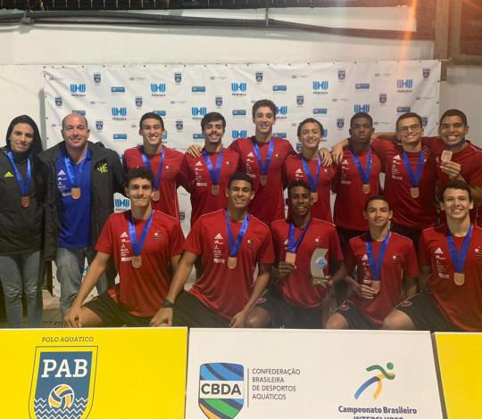 Flamengo conquista o bronze no Campeonato Brasileiro Interclubes de Polo Aquático Sub-18
