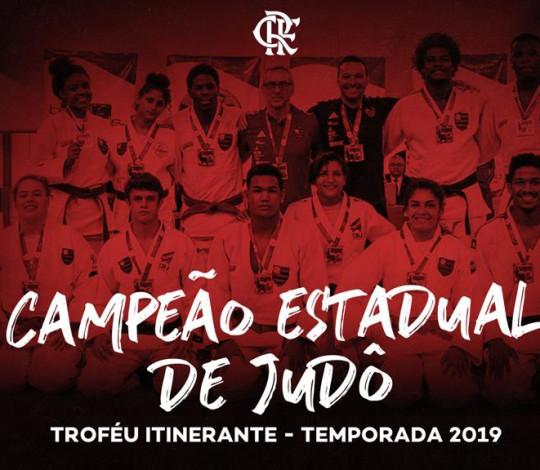 Time Flamengo é o grande campeão do Troféu Itinerante de Judô 2019