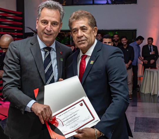 Salão Nobre recebe Reunião Solene com homenagem a sócios e comemoração aos 124 anos do Flamengo