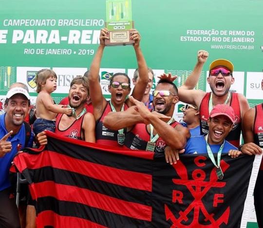 Flamengo conquista o título do Campeonato Brasileiro de Para-Remo
