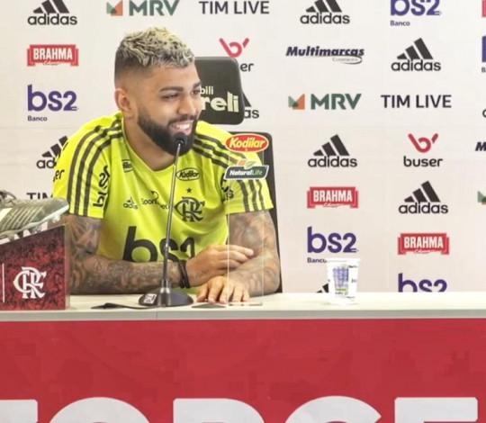 Gabigol fala sobre duelo contra o Avaí no Maracanã