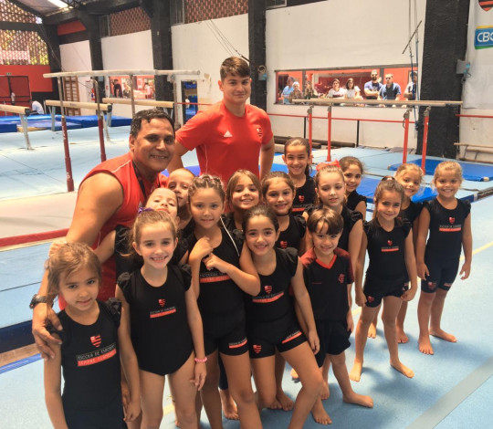 Copa FLA de ginástica artística reúne atletas na Gávea
