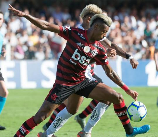Flamengo perde para o Santos na despedida do Brasileirão 2019