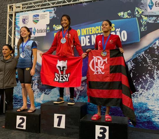 Time Flamengo encerra participação no Campeonato Brasileiro Interclubes Juvenil de Natação
