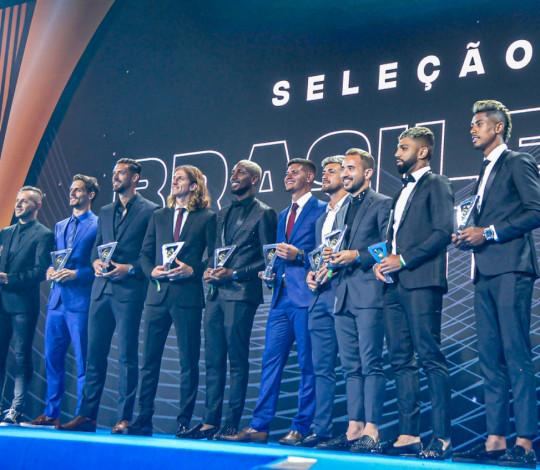 Flamengo domina Bola de Prata e Prêmio Brasileirão