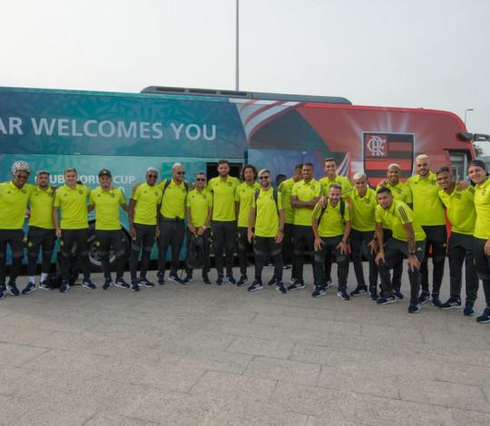 Flamengo chega a Doha e já sabe quem vai enfrentar na semifinal do Mundial