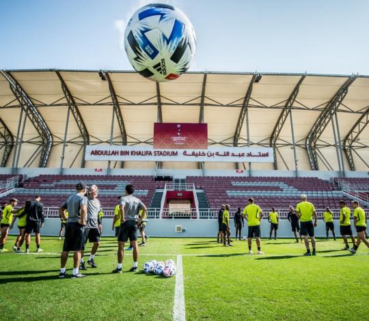 Flamengo realiza último treino antes de enfrentar o Al-Hilal, pelo Mundial de Clubes