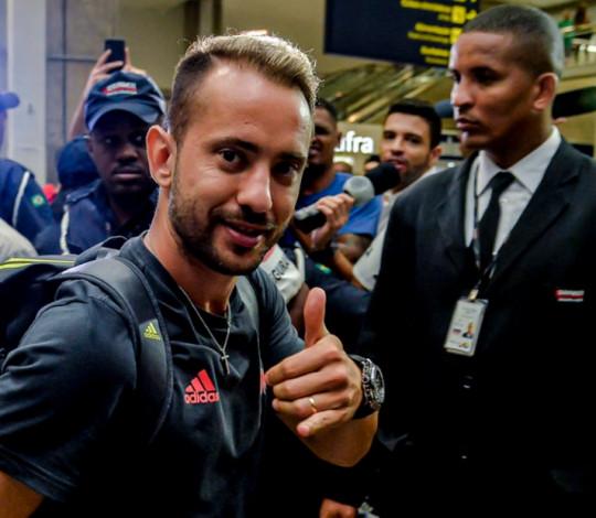 Flamengo chega ao Rio após a disputa do Mundial de Clubes