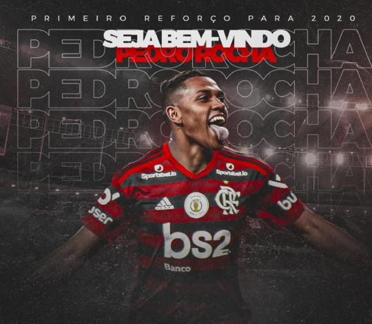 Pedro Rocha é o novo reforço do Mengão