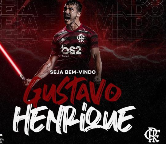 Gustavo Henrique assina com o Flamengo por quatro anos