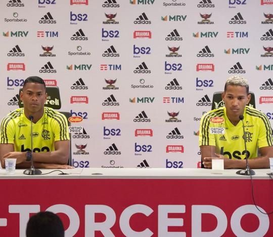 Lucas Silva e João Lucas falam sobre oportunidade no Fla