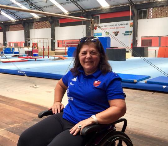 Georgette Vidor retorna ao Flamengo como coordenadora técnica da ginástica artística