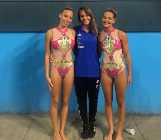 Jéssica Noutel comenta planejamento do nado artístico rubro-negro para 2020