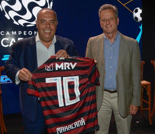 Atual campeão, Flamengo participa de lançamento do Campeonato Carioca 2020