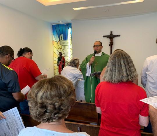 Missa Votiva de São Judas Tadeu é realizada na Gávea