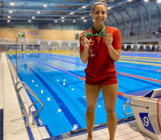 Em busca da vaga olímpica, Nathália Almeida encara temporada na Europa