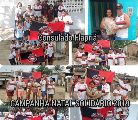 Consulado Flapriá distribui 250kg de alimentos entre famílias carentes