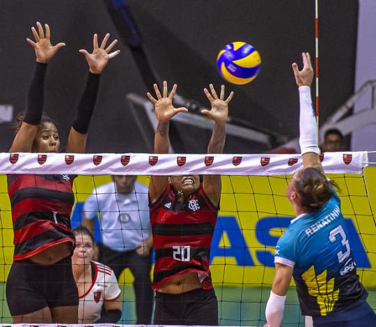 Flamengo enfrenta o Sesc no Tijuca Tênis Clube nesta terça-feira (04)