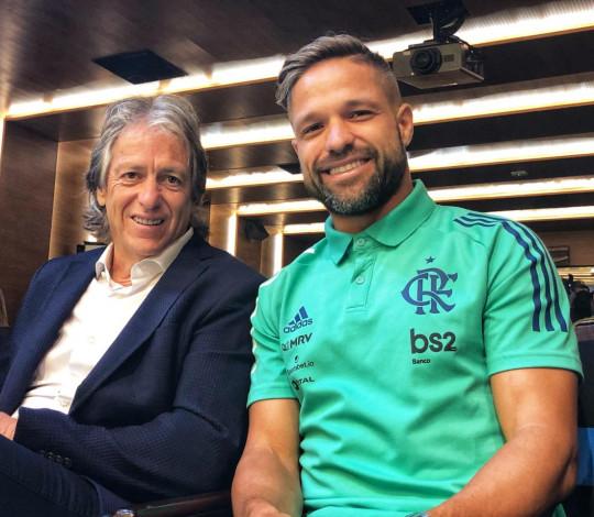 Jesus e Diego falam sobre disputa do título inédito da Supercopa