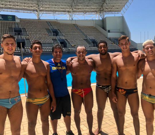 Seis atletas rubro-negros são convocados para a Seleção Brasileira de polo aquático