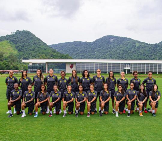 Flamengo/Marinha inicia caminhada no Brasileirão Feminino contra o Santos