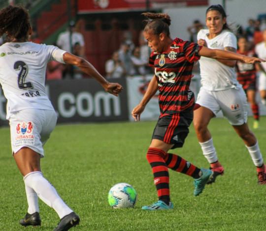 Na estreia do Brasileiro Feminino, Flamengo/Marinha é derrotado pelo Santos