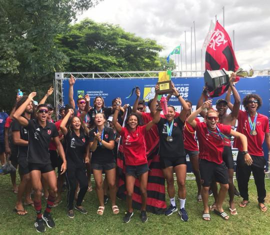 TRICAMPEÃO! Flamengo conquista o Campeonato Brasileiro de Barcos Curtos em São Paulo