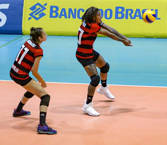 Em casa, Flamengo recebe o Pinheiros pela Superliga