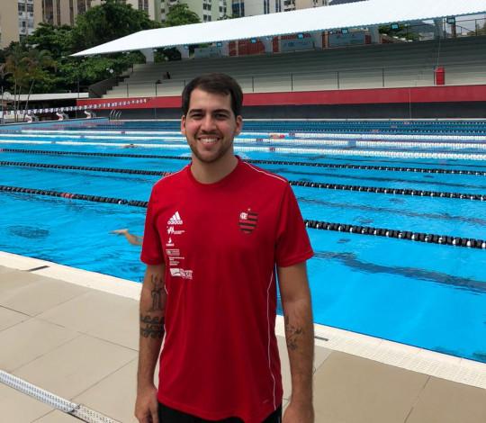 Rodrigo Longo é o novo técnico da natação rubro-negra