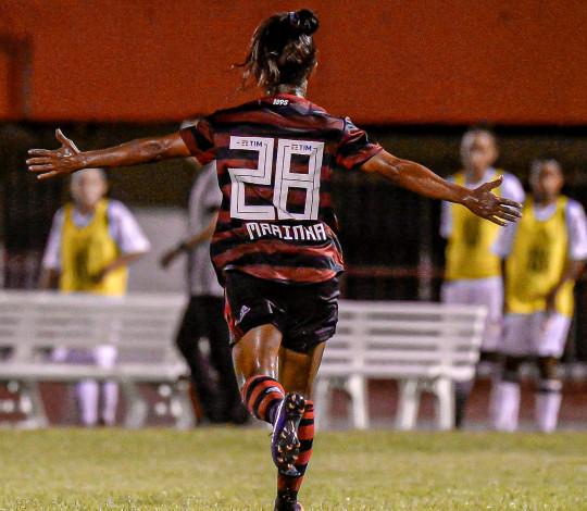 Flamengo/Marinha encara o São Paulo pelo Brasileirão Feminino