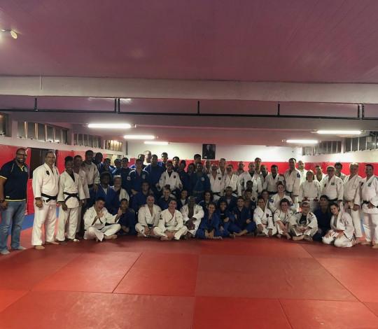 Flamengo recebe visita de técnicos franceses de judô