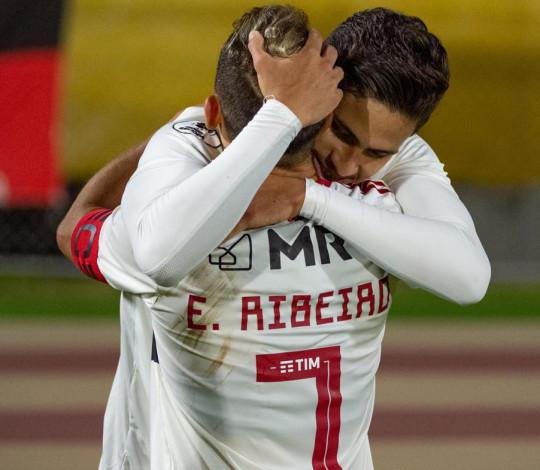 Flamengo empata por 2 a 2 com o Del Valle pela Recopa Sul-Americana