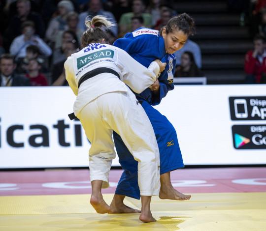 Sarah Menezes encara o Grand Slam de Düsseldorf