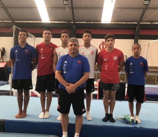Roberto Nassar projeta a temporada da ginástica artística masculina do Flamengo