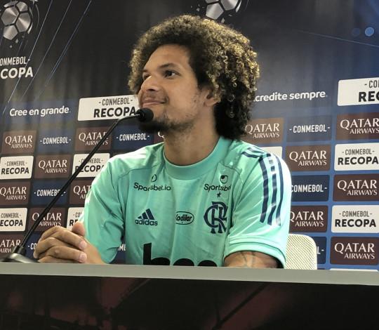 Willian Arão destaca confiança da equipe para mais uma decisão