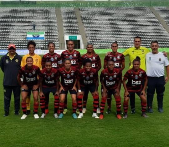 Nos acréscimos, Flamengo/Marinha vence de virada o Minas Icesp por 3 a 2 pelo Brasileirão Feminino