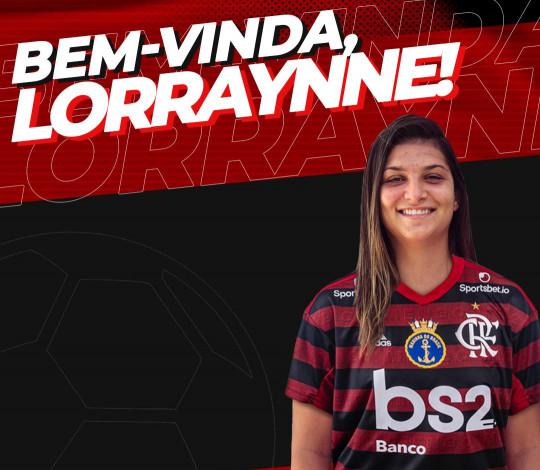 Lorraynne é a nova contratação do Flamengo/Marinha