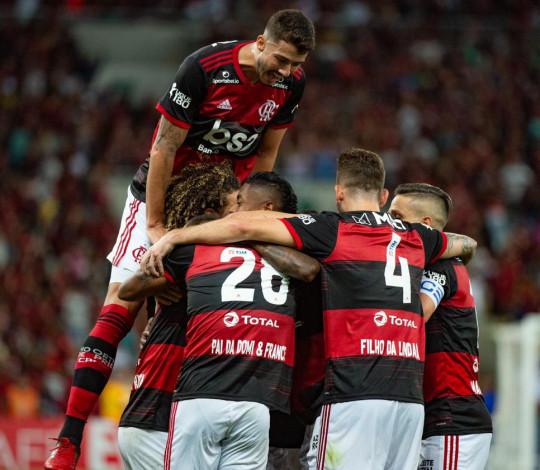 Deu Mengão no clássico! Flamengo vence o Botafogo por 3 a 0 pela segunda rodada da Taça Rio