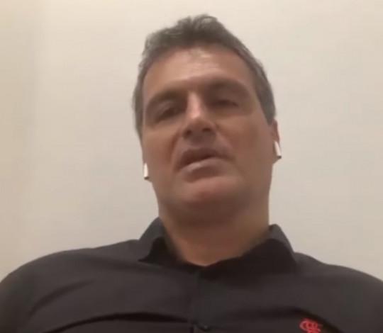 Bruno Spindel destaca trabalho em conjunto no Flamengo