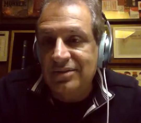 Luiz Eduardo Baptista, o Bap, conta como o Fla está atravessando a quarentena