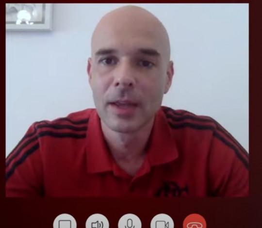 Marcello Varriale é o convidado do Papo Virtual da FlaTV desta quinta-feira (07)